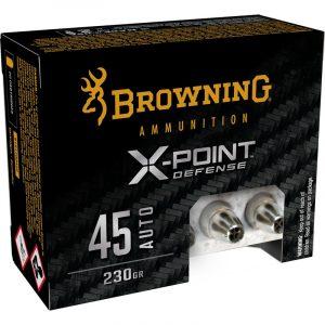 45 AUTO 230gr BXP X-Point Personal Defense, 20/Box