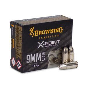 9mm 147gr BXP X-Point Personal Defense, 20/Box
