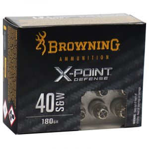 40 S&W 180gr BXP X-Point Personal Defense, 20/Box