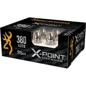 380 AUTO 95gr BXP X-Point Personal Defense 20/Box